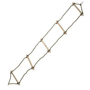 Drevená hojdačka rebrík