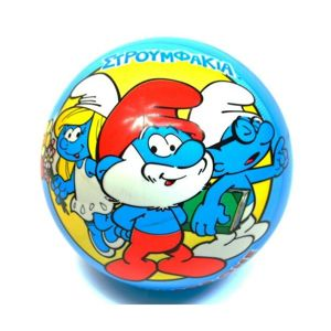 Gumenná lopta Šmolkovia