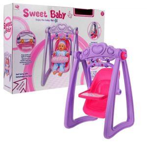 Hojdačka pre bábiky 2 v 1