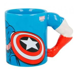 Hrnček Marvel Captain America Arm 3D