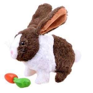 Interaktívny plyšový zajac