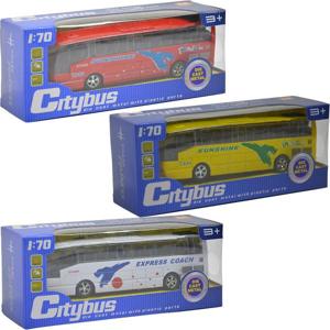 Kovový turistický autobus CityBus