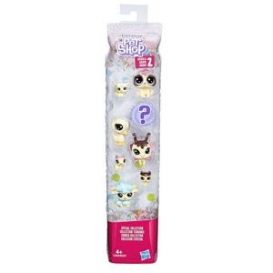 Littlest Pet Shop zvieratko Frosting Frenzy set 8 ks - 2